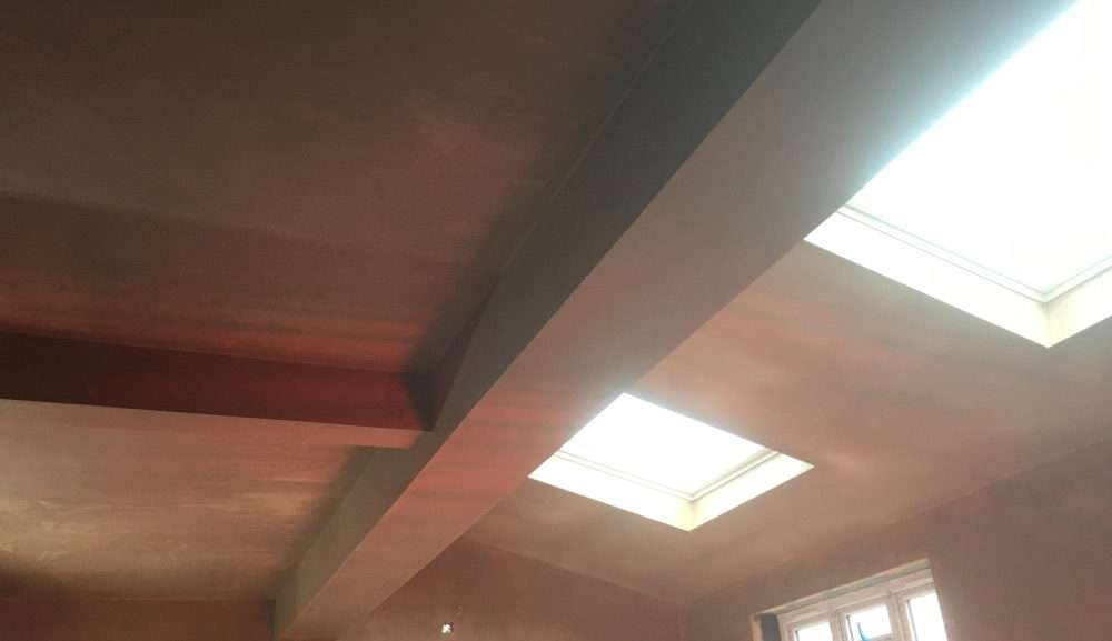 Ceiling plastering by reliable builders